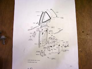 65 mustang restoration post 40 7 10 11 rear quarter for 1965 mustang window adjustment