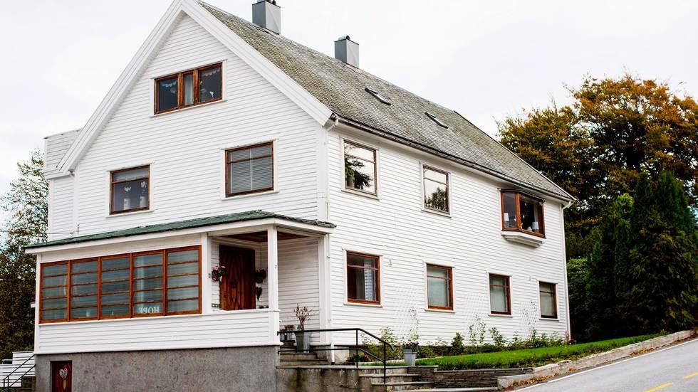 Huset vårt i Aftenposten.