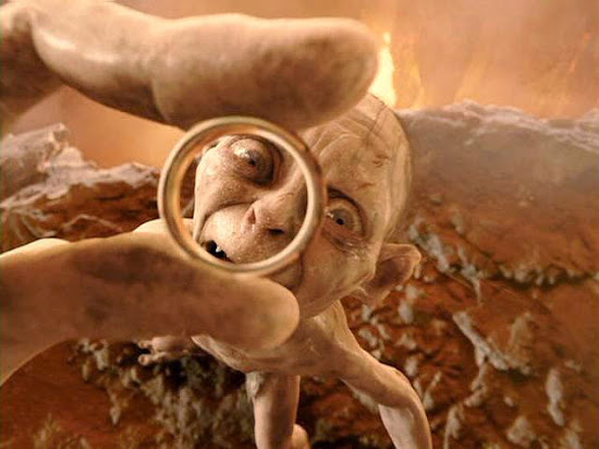 Gollum finally got the One Ring