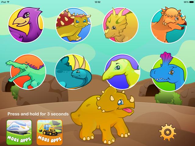Dino puzzle Tiltan Games