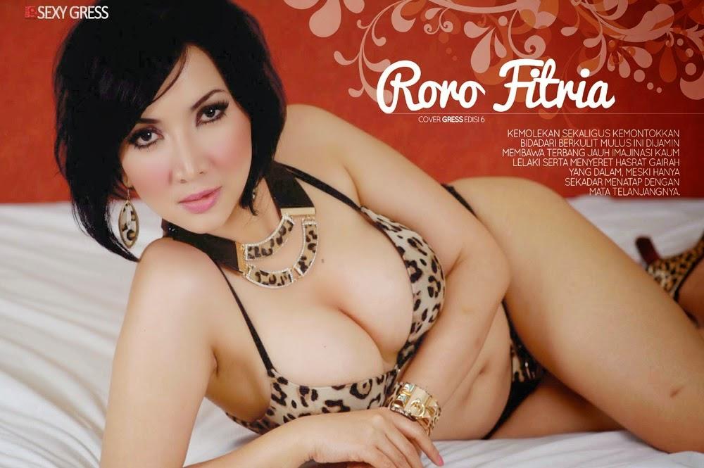 Hot Pictures Roro Fitria On Gress Magazine