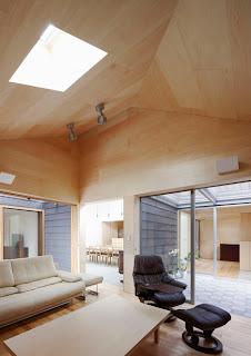 Casa luminosa en Japón