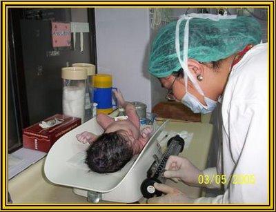 Cuidados de Enfermeria en el Recien Nacido