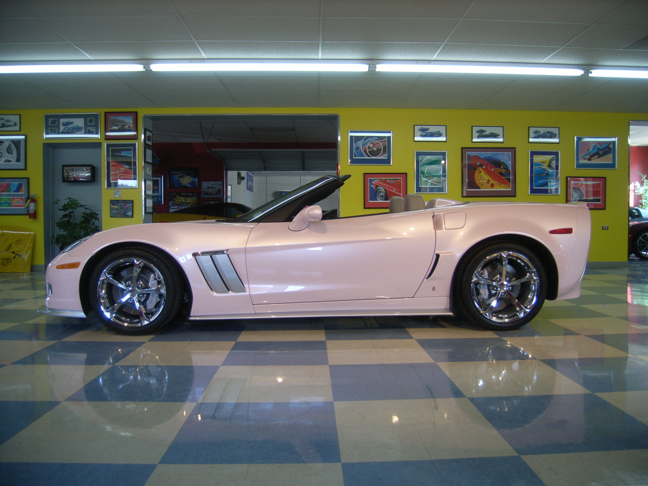 Purifoy chevrolet unveils latest custom corvette