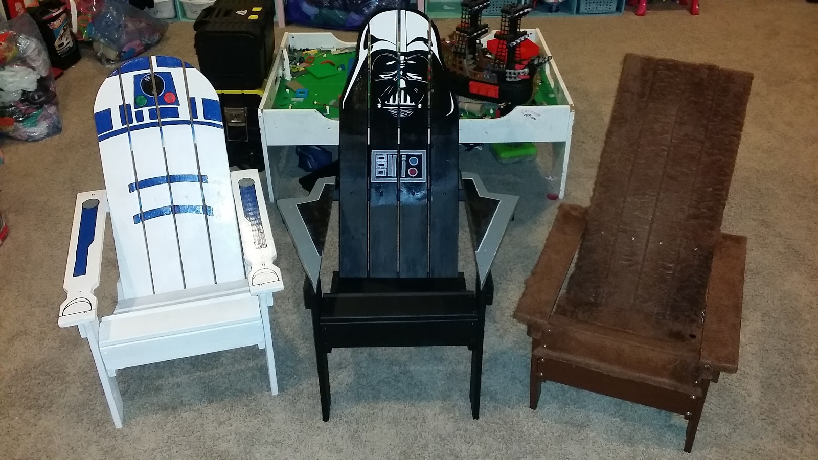 If Youu0027re A Star Wars Fan Then These Chairs Are For You! These Are  Childrenu0027s Sized Chairs And Fit Youth Up To 12 Years Old.
