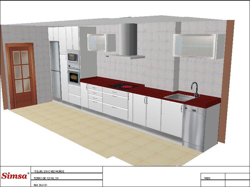 Cocinas y ba os mya dise os personalizados for Diseno cocinas y banos