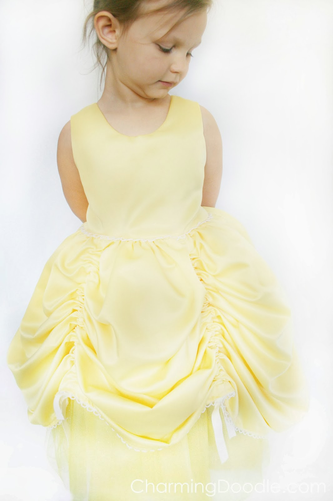 sc 1 st  Charming Doodle & Charming Doodle...sew it build it!: Homemade Princess Belle Costume
