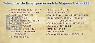 Emergency numbers. Area code is 998.