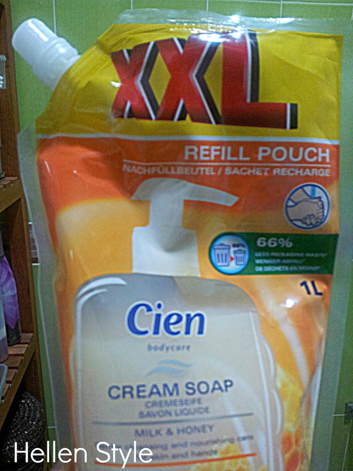 Recambio jabón de manos Cien