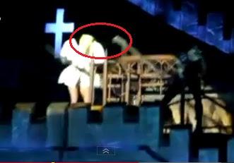 golpean a lady gaga en concierto