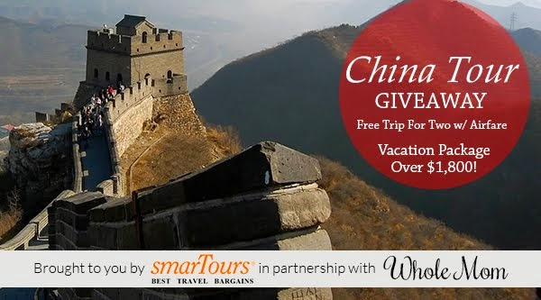 smarTours China Tour Giveaway