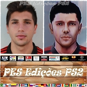 Lucas Mugni (Newell's Old Boys) ex Flamengo PES PS2