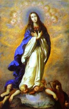 Imagen de la Inmaculada Concepción