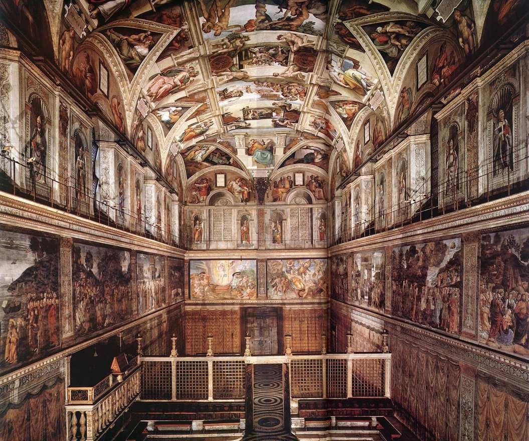 Sistine Chapel Artist Painting