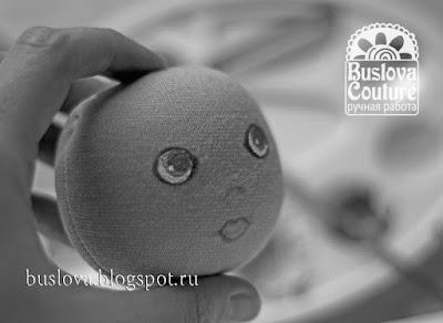 мастер-класс, кукла, текстильная кукла, как оформить лицо, лицо, мастер класс кукла, Буслова Евгения