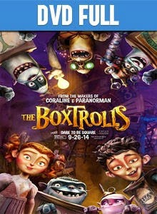 The Boxtrolls DVD Full Español Latino 2014