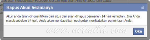Akun DL FB 3 Cara Hapus Permanen Account Facebook