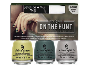 China Glaze The Great Outdoors: On The Hunt 3-piece set