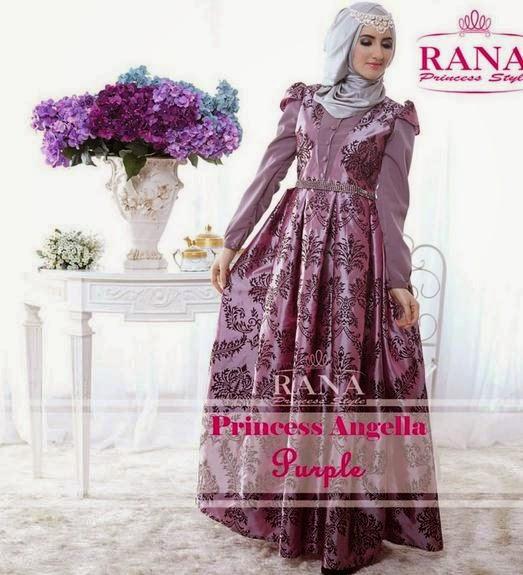 Gambar Model Baju Pesta Muslim Modern