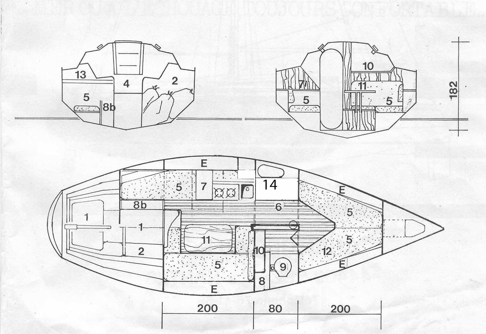a vendre voilier quille relevable en superbe tat pr t naviguer hatoup un mopelia ior. Black Bedroom Furniture Sets. Home Design Ideas