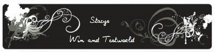 Stacys win and testworld