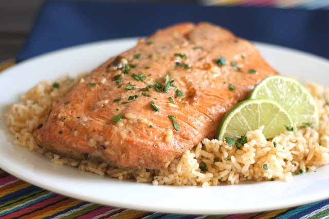 Chipotle Lime Salmon recipe by Barefeet In The Kitchen
