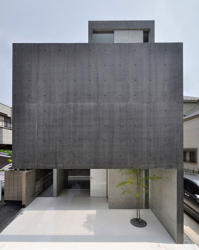 Japanese minimalism modern design by for Japanese minimalist house design