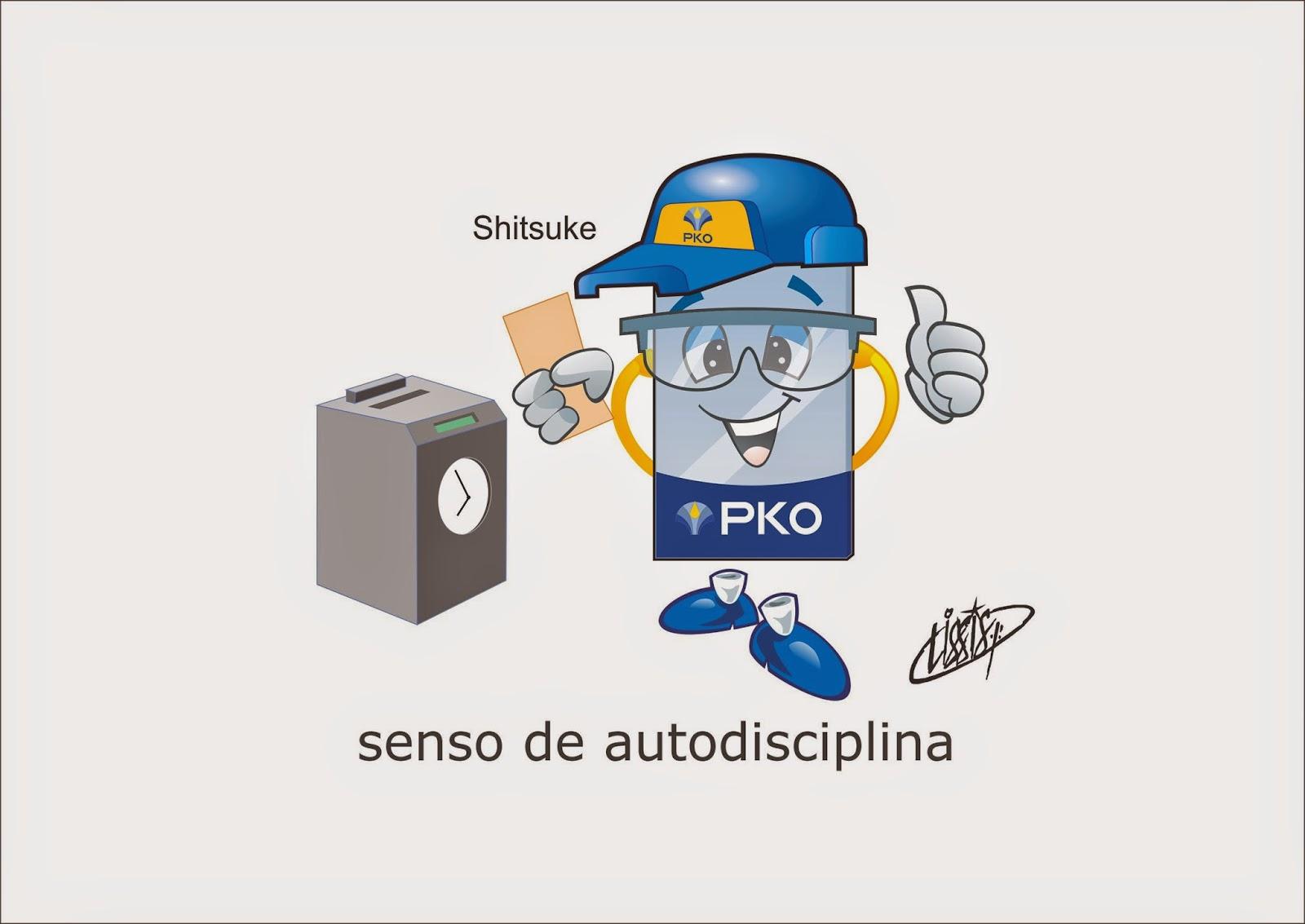 Programa 5 S desenho senso autodisciplina 01 Shitsuke
