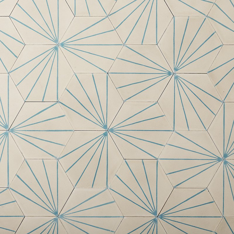 Gather Geometric Cement Tiles From Contemporary Tiles