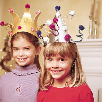 DIY Party Hats for New Years Eve