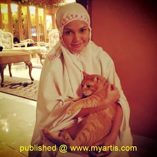 Puteri Sarah Liyana isteri Syamsul Yusof kemalangan teruk