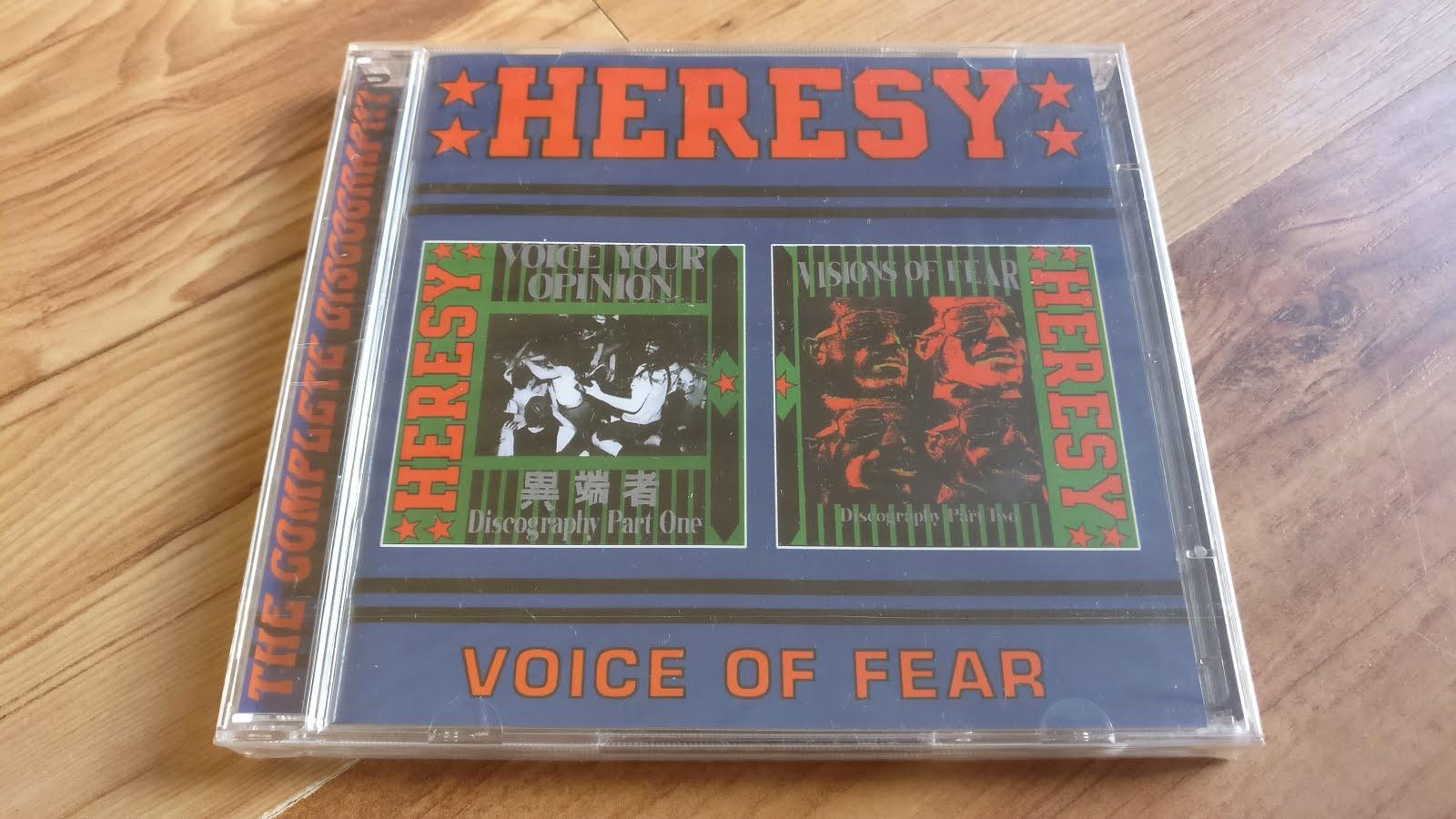 Heresy - Never Healed E.P.