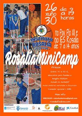 Rosalía MiniCamp (26 a 30 de junio de 2017)