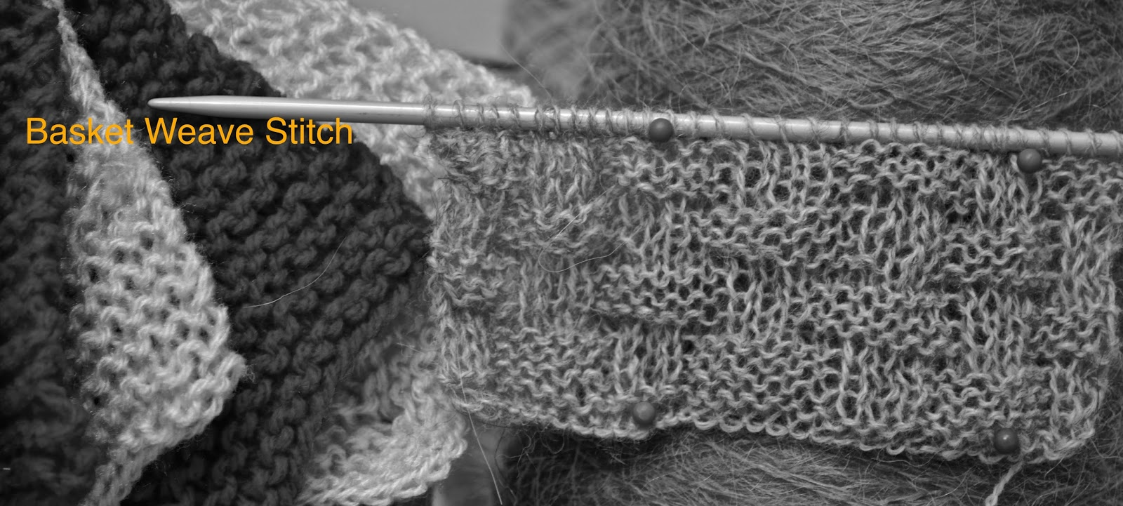 Knitting Novice: The Weekly Swatch: The Basket Weave Stitch