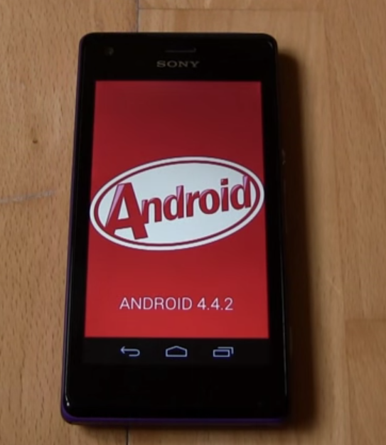 KitKat update for Sony Xperia M2 Smartphone