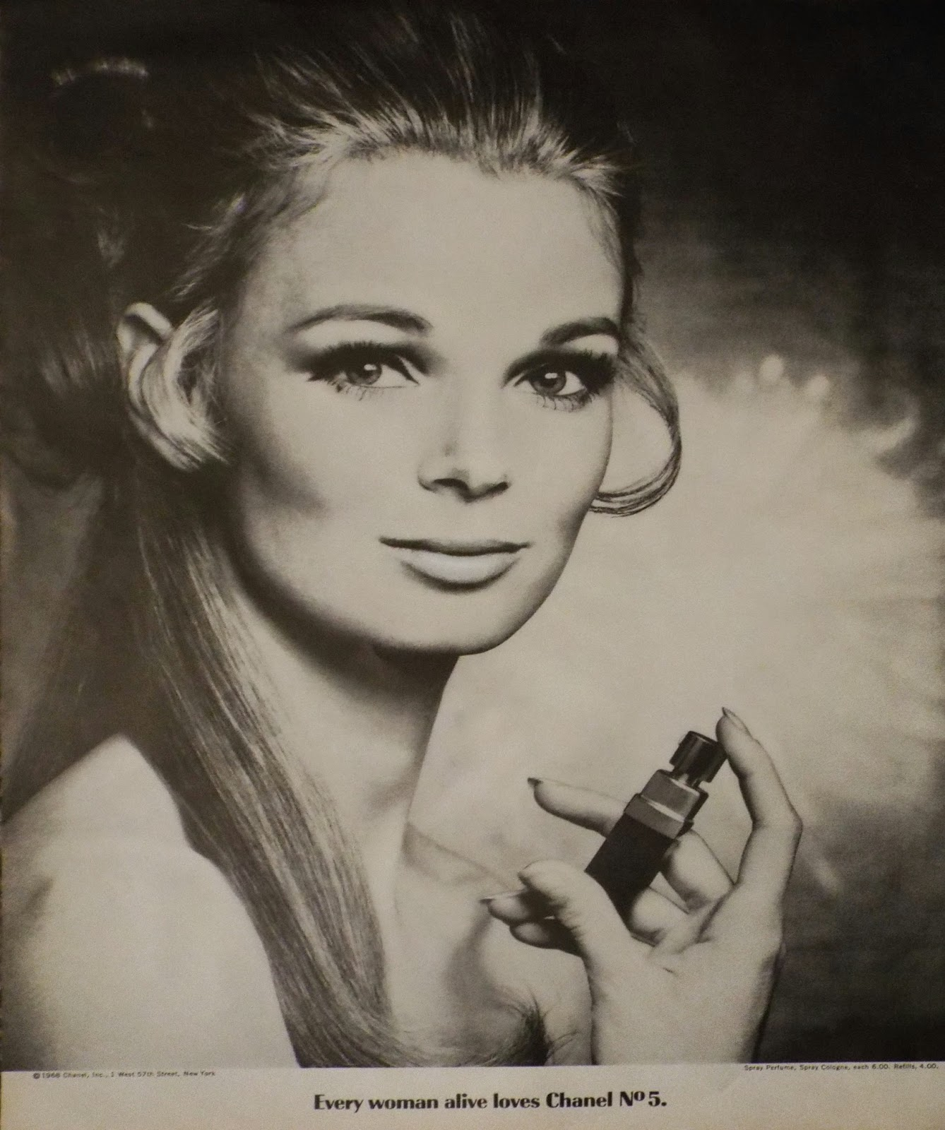 vintage magazine ads chanel ad
