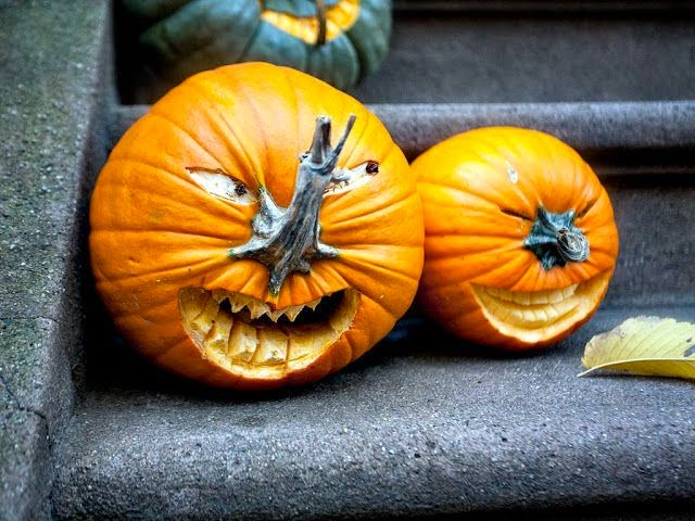 DIY Halloween Pumpkin Carving & Decorating Ideas