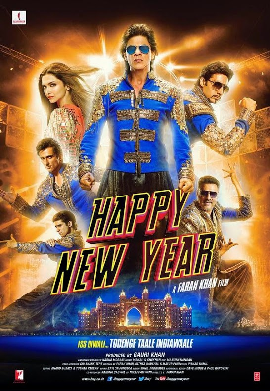 Shah Rukh Khan - Happy New Year 2014 Film HNY