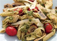 Weight Loss Recipes : Penne with Mushrooms and Artichokes