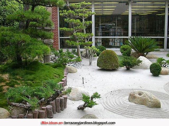 C mo decorar un jard n de estilo zen terrazas y jardines - Hacer jardin zen ...