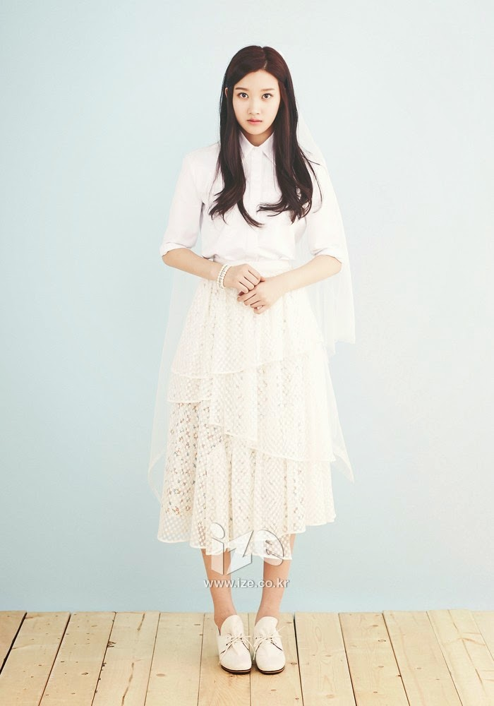 Moon Ga Young - ize Magazine April Issue 2014