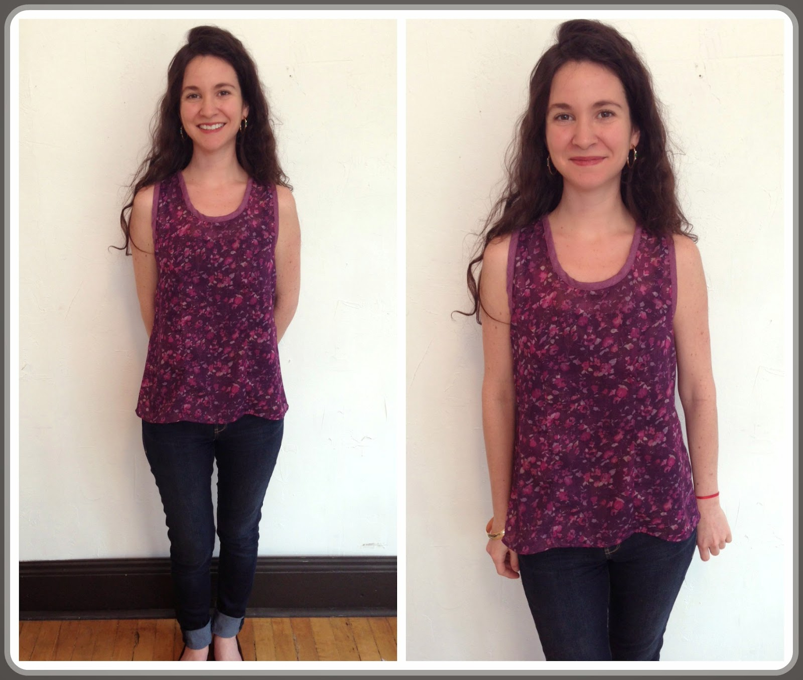 New Megan tank by Sarah Bibb ($118) at Folly