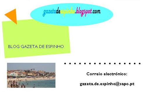 Cartão visitas - Blog Gazeta de Espinho