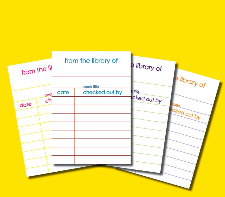 It is a graphic of Légend Library Card Printable
