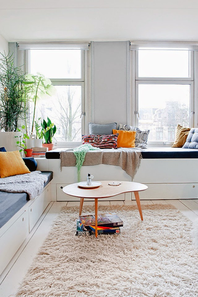 Bright apartment in amsterdam by i love architecture