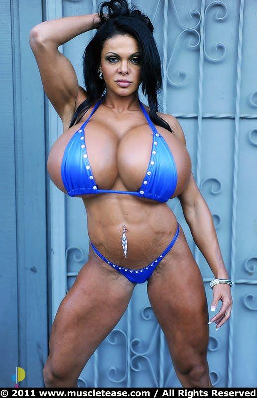 many fitness athletes get breast implants but brazilian bombshell ...