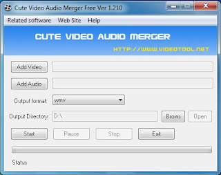Cute Video Audio Merger Free 1.210