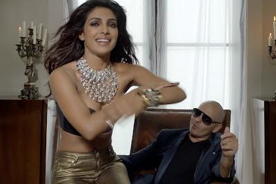 Priyanka CHopra Hot Sexy Showing Boobs in Exotic Song