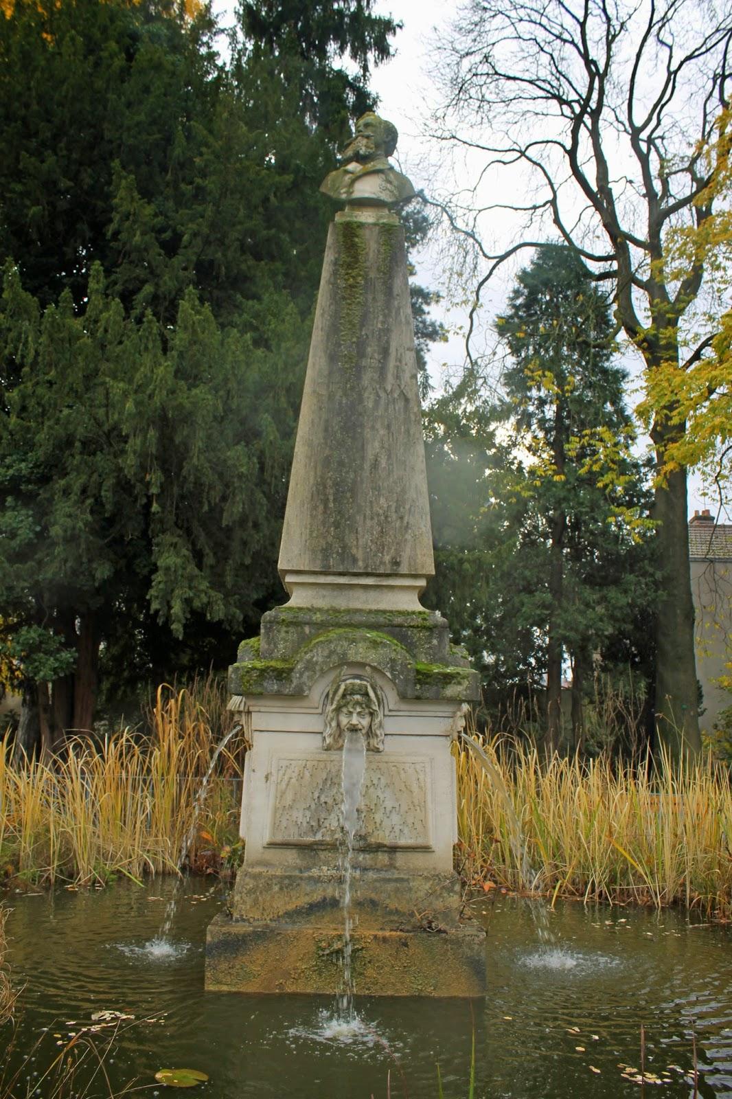 La petite hirondelle weekend en lorraine nancy 9 novembre 2014 - Jardin dominique alexandre godron ...