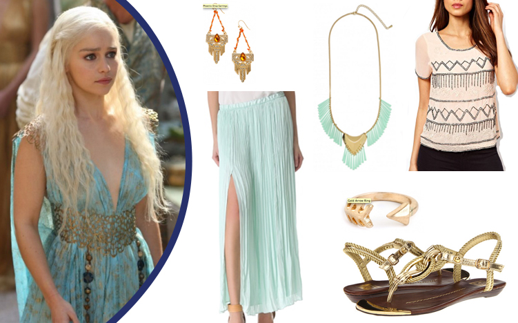 Young Casual Chic Game Of Thrones Fashion Inspired By The Show